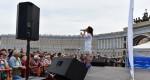 Концерт на Дворцовой площади и Адмиралтействе ко Дню ВМФ