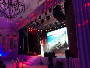 Концерт в Новый Год в Петергофе. Летний Дворец