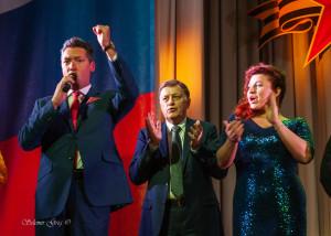 Поздравили Защитников Отечества с Праздником!